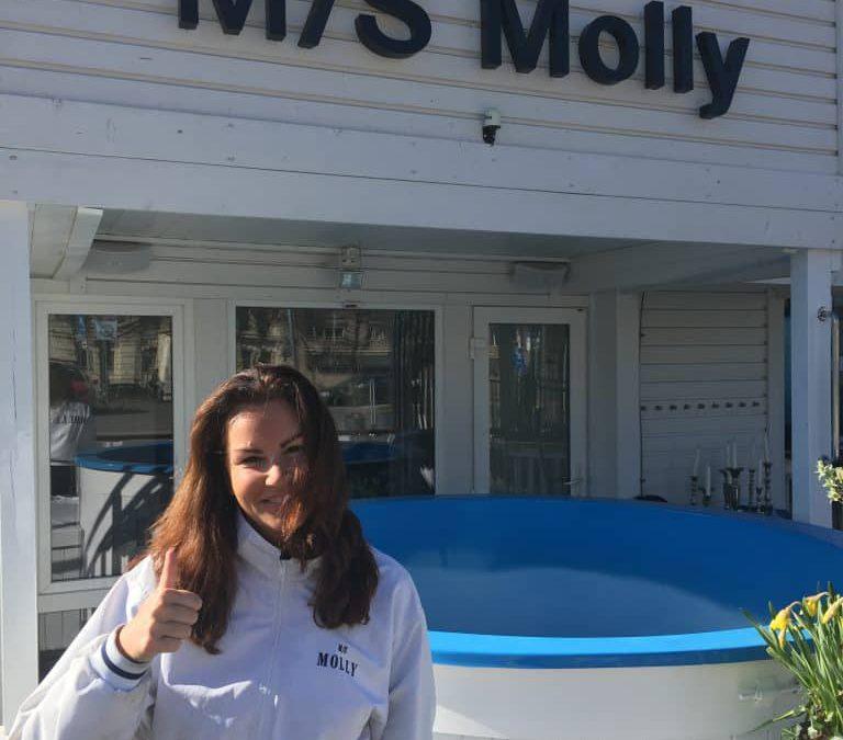 Välkommen Lotta till Team M/S Molly!