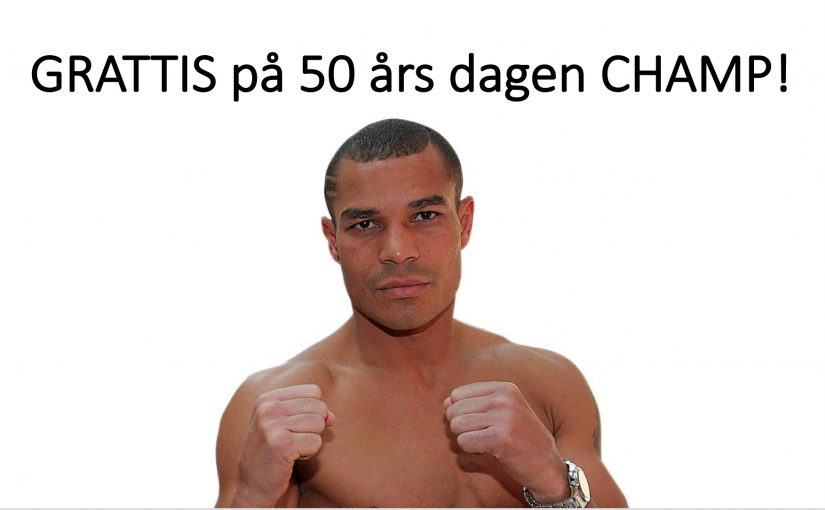 George Scott – The Champ 50 år!